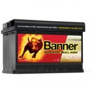 Banner Running Bull AGM 57001 jobb+ 70Ah / 720A akkumulátor