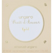 Emanuel ungaro fruit d'amour gold 30 ml eau de toilette edt profumo donna