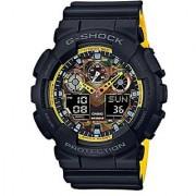 Casio G-shock Analog-Digital Multi-Colour Dial Mens Watch-GA-100BY-1ADR (G750)