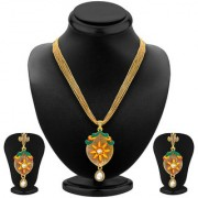 Sukkhi Modish Gold Plated Pendant Set For Women