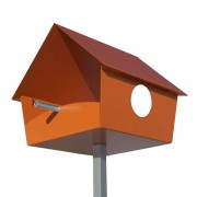 Radius Design Piep Show XXL Vogelhaus orange