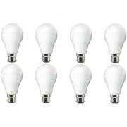 NIPSER 9 Watt Premium 900 Lumens LED Bulb ( Pack of 8) Cool Day Light
