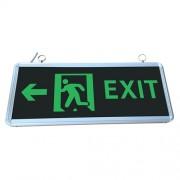 Led Exit lámpa, kétoldalas, 3W, 3H üzemidő, folyamatosan világít. Baloldalra mutat. Life Light Led 2 év garancia!