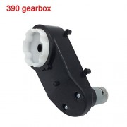 390 16000RPM Gearbox with DC Motor,12V Motor with Gear Box for Kids Powered Ride On Car and Motorcycle Parts Universal RS390 Drive Engine Match Children's Riding Toy Accessories