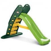 Голяма сгъваема пързалка - Жълто и зелено - Little Tikes, 320115