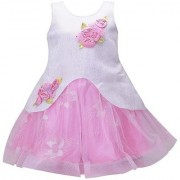 Prince & Princess Pink Party Dress for Baby Girl