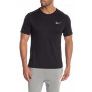 Nike Miler Dri-Fit Tee BLACKBLACKREFLECTIVE SILV