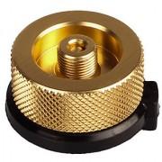 Futaba Stove Connector Gas Bottle Adaptor Burner - Gold
