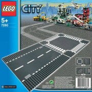Set de constructie LEGO City Strada si Intersectie