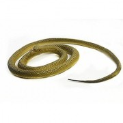 SOSAM Rubber Lifelike Snakes Creatures Chain Snakes 47 Rain Forest Snake Toys Wild Life Snakes