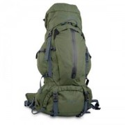 True North Trek 60 Hiking Backpack, green, True North