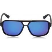 Daniel Klein Rectangular Sunglasses(Multicolor)