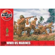 Kit soldati Airfix 01716 Set 45 soldati WWII Marina Americana scara 1 72
