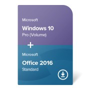 Windows 10 Pro (Volume) + Office 2016 Standard digital certificate