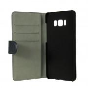 Gear plånboksfodral med kortplats svart, Samsung Galaxy S8 Plus
