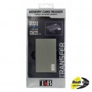 Tnb aluminijumski čitač kartice USB hub DTXCALU
