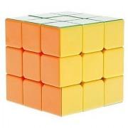 3x3x3 Qiyi Stickerless Hei-manba Speed Cube Puzzle Smooth New Toy 3x3