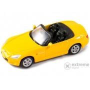 Mașinuță Welly Honda S2000, galben 1:60-64