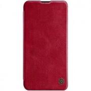 Nillkin Qin Book tok Samsung Galaxy A40 készülékhez, piros