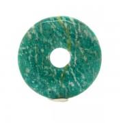Donut fánk medál -Amazonit