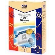 Sac aspirator ETA 419, sintetic, 4X saci + 2 filtre, KM