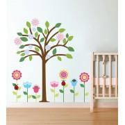 Floricele si copacul colorat