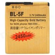 """Deslice la BL-5F reemplazo """"2450mAh"""" Li-ion para Nokia 6210 Navigator? 6260? 6290? E65"""