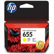 Cartus cerneala Original HP 655, CZ112AE - Yellow