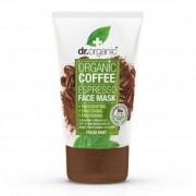 Dr. Organic Bio kávé élénkítő arcpakolás - 125ml