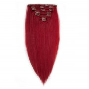 Rapunzel® Extensions Naturali Kit Clip-on Original 7 pezzi 6.9 Rubin Red 40 cm