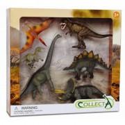 Set 6 figurine preistorice Collecta, multicolor