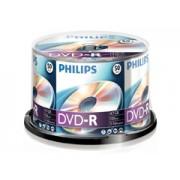 Philips DVD-R * 50 Cake Box írható DVD