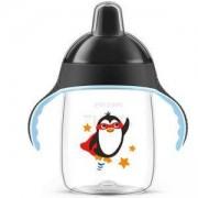 Детска неразливаща чаша 340мл. Avent, пингвинче, 3 налични цвята, 079947
