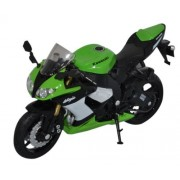 Welly - 1/18 Kawasaki Ninja Zx-10R Motorcycle For Kids - Green