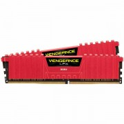 CORSAIR Vengeance LPX DDR4 2666MHz 32GB 2 x 288 DIMM, Unbuffered, 16-18-18-35, Red Heat spreader, 1.2V, XMP CMK32GX4M2A2666C16R
