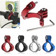 Aluminum Pince Mount Support Camera Vélo Moto Holder Pr Caméra Gopro Hero 2/3/3+
