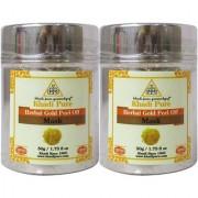 Khadi Pure Herbal Gold Peel Off Mask - 50g (Set of 2)