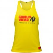 Gorilla Wear Classic Tank Top Yellow - L