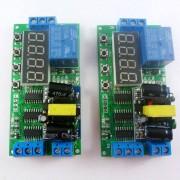 IO23B01 * 2 2 stks AC 85 V-260 V 110 V 220 V Cyclus Tijd Tijdschakelaar Vertraging relais OP OFF voor LED Smart Home PLC Licht security monitor