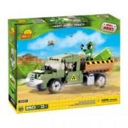 Set de construit camion militar 150 piese - Cobi