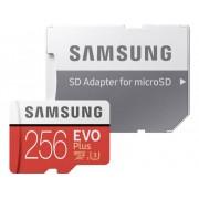 Samsung EVO Plus microSDXC-kaart 256 GB Class 10, UHS-I, UHS-Class 3 Incl. SD-adapter