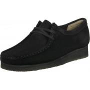 Clarks Wallabee Damen Schuhe schwarz