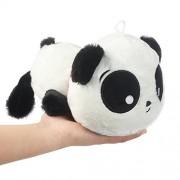 Luckstar(Tm) New Lovely Stuffed Bear Pandas Baby Kids Toys 20cm Papa Panda Tarepanda Soft Plush Toys Smiling Lying Panda Stuffed Plush Toys Children Pillow Bear Panda Animal Doll For Boys Girls Birthday Valentines Day Gift
