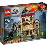 Lego Klocki konstrukcyjne LEGO Jurassic World Atak indoraptora 75930