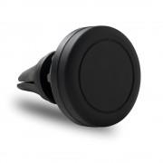 Suport telefon auto magnetic, Everestus, STT030, plastic, negru, laveta inclusa