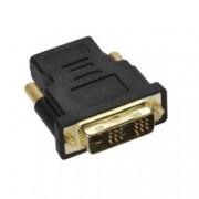 Адаптер Vivanco 42074, от DVI(м) към HDMI(ж), черен