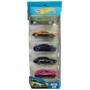 Genuine Hot Wheels 164 metal Die cast car for Children Pack of 5