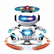Kidz Dancing Robot with 3D Lights and Music