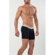 Mundo Unico Yunnan Mid Boxer Brief Underwear Navy/Gold 15300942-82