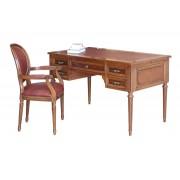 Schreibtisch und Lehnsessel Büro-Set